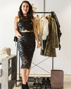 This lacy number is incredibly flattering and fashion-forward. Make any getup look like something hot off the runways by pairing it with some glamorous ankle boots. Trending Now, Personal Stylist, Fashion Stylist, Industrial Style, Fashion Forward, Runway, Stylists, Glamour, Fashion Bloggers