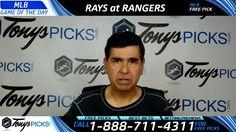 Tampa Bay Rays vs. Texas Rangers Free MLB Baseball Picks and Predictions...