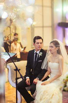 Celebrity Wedding: Toni Gonzaga and Paul Soriano Wedding Ceremony Photos | http://brideandbreakfast.ph/2015/06/16/toni-gonzaga-paul-soriano-wedding-photos-ceremony/
