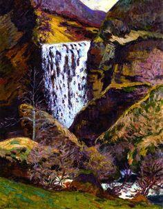 La Creuse Landscape Armand Guillaumin - circa 1895