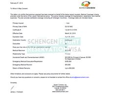 No Objection Letter For Visa Application Sample  Schengen Visa