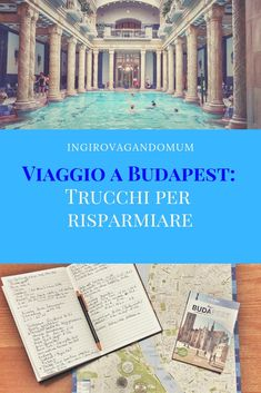 Trip to Budapest: tricks to save money- Viaggio a Budapest: trucchi per risparmiare How much is a trip to How and what to save? Tips on how to get around, where to eat and what to see in Budapest on a budget. Ways To Travel, Travel Tips, Budapest Travel, Overseas Travel, World Traveler, Where To Go, Traveling By Yourself, Saving Money, Places To Visit