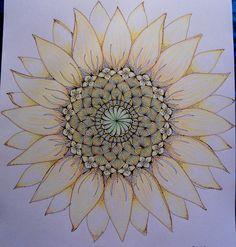 Sunflower.. Mandala