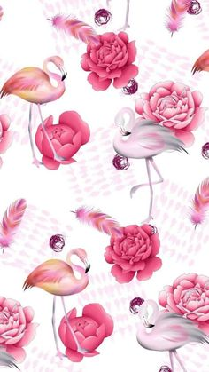 17 ideas for wallpaper pink flamingo patterns Frühling Wallpaper, Flamingo Wallpaper, Flamingo Art, Flamingo Pattern, Tumblr Wallpaper, Pink Flamingos, Pattern Wallpaper, Wallpaper Backgrounds, Wallpaper Ideas
