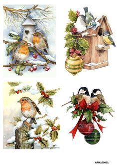 Rice paper, handmade soap, matryoshka dolls, foam eva by BijouMaster Christmas Decoupage, Christmas Paper, Vintage Christmas Cards, Christmas Crafts, Christmas Decorations, Christmas Ornaments, Xmas, Vintage Cards, Christmas Scenes