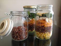 Quirky Quinoa Salad in a Jar