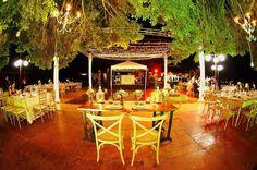 Hacienda Dzibikak wedding - best seats in the house