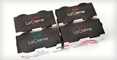 The La Créme brand is sophisticated and luxurious - which aligns perfectly with the product's rich, creamy flavors and authentic ingredients. A product of LaLa Dairy, it is distributed nationwide