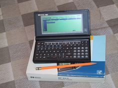 Long before many had desktop PCs, HP introduced a pocket computer that kickstarted my passion for mobile gadgets. Computer Diy, Computer Technology, Ram Card, Handwriting Recognition, Tech Sites, Hp Computers, Vhs Cassette, Bad Room Ideas, Must Have Gadgets