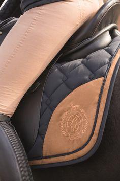 Saddle pad -Champagne-