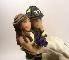 Pompier  La mariée aux Repetto