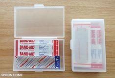 セリアのカードケースの収納ブログ画像