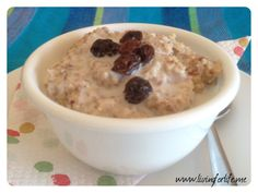 Porridge recipe for a paleo breakfast