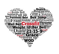 CROSSFIT+heart+I+love+CROSSFIT+by+YourOwnWords+on+Etsy,+£12.00