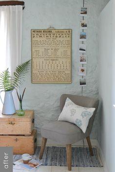 Mini makeover: bedroom nook | Decorator's Notebook blog