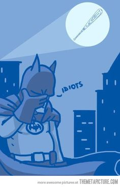 The bat-signal #batman