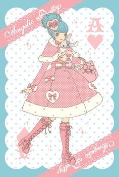 今井キラ Kira Imai × Angelic Pretty