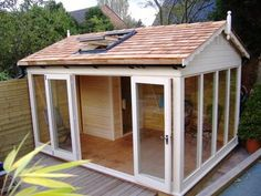 Mark! And we NEED a little wooden summer house too! :)