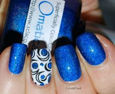 """Superficially Colorful Lacquer """"Omaticaya"""" www.colorfulcrack.com"""