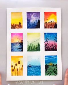 Easy and simple acrylic painting for the absolute beginner and kids. How To Paint American Flag Sky - Step By Step Painting Small Canvas Art, Mini Canvas Art, Easy Canvas Art, Oil Pastel Art, Oil Pastels, Oil Pastel Drawings Easy, Chalk Pastel Art, Oil Pastel Paintings, Chalk Pastels