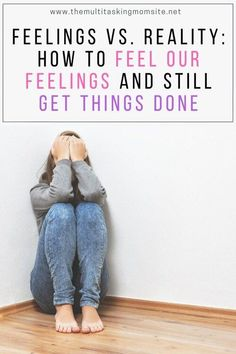 Feelings can stop us in our tracks and prevent us from getting things done and making progress in our lives. Emotional Development, Personal Development, Baskin Robbins, Feeling Insecure, Postpartum Depression, Hurt Feelings, Mom Advice, Raising Kids, Mom Blogs