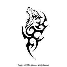 Nice Small Tribal Wolf Head Howling With Design Tattoo Sample Nice Small Tribal Wolf Head Howling Wi Wolf Tattoo Design, Tribal Tattoo Designs, Tribal Drawings, Wolf Design, Tattoo Wolf, Wolf Tattoo Tribal, Tattoos Tribal, Wolf Drawings, Geometric Tattoos