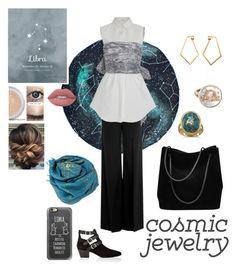 """Cosmic Jewelry: Libra"" by stella-de-luna-fashion on Polyvore featuring Carolina Bucci, Casetify, Gucci, Bajra, Yves Saint Laurent, RED Valentino, Adeam, BillyTheTree, Dutch Basics and Lime Crime"