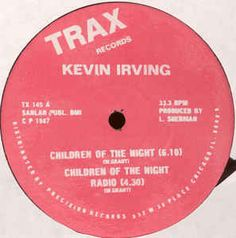 Kevin Irving - Children Of The Night Chicago House, Old School House, House Music, Techno, Homeschool, Songs, Night, Children, Toddlers
