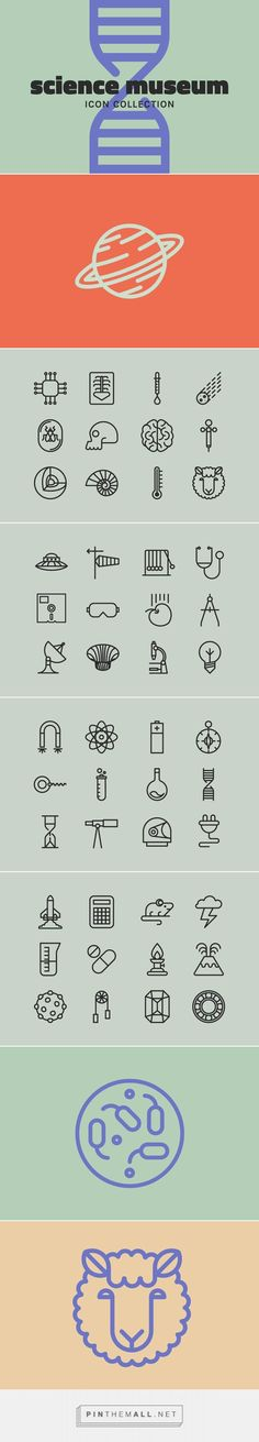 Science Museum - Graphics - YouWorkForThem #icons                                                                                                                                                                                 More