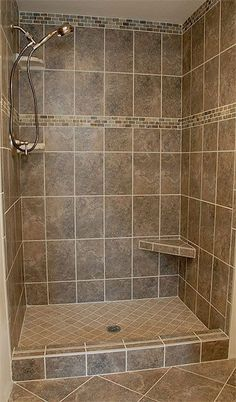 Shower Renovation The Most Useful Bathroom Shower Ideas There are almost uncountable kinds of rest r Shower Remodel, Bath Remodel, Basement Bathroom, Master Bathroom, Bathroom Small, Bathroom Storage, Master Shower, Steam Bathroom, Lowes Bathroom