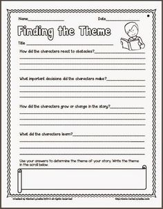 Ideas for Teaching Theme (and a couple freebies!): I just updated this post with a new freebie. These questions will really help your students to find that oh-so elusive theme for whatever story they are reading.