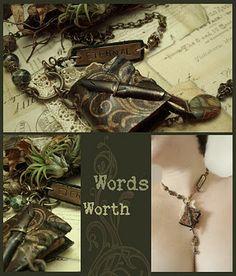 Altered Alchemy Gallery: Book Jewelry