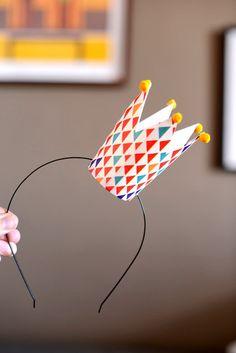 #DIY Crown with paper cup Blog Parangolé