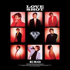 EXO Love Shot Repackage Album Cover by thesentimentalmis.- EXO Love Shot Repackage Album Cover by thesentimental… in 2020 J Pop, Baekhyun Chanyeol, Exo Kai, Got7 Jackson, Jackson Wang, Taemin, Shinee, Words For Girlfriend, Luhan And Kris