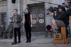 Josh Hutcherson and Jennifer Lawrence | The Hunger Games: Catching Fire