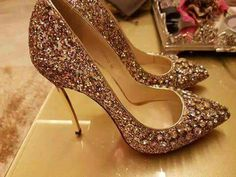 Sparkly Shoes, Strappy Shoes, Fancy Shoes, High Heels Stilettos, High Heel Boots, Stiletto Heels, Shoe Boots, Dress Up Shoes, Prom Shoes