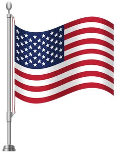 United States of America Flag PNG Clip Art
