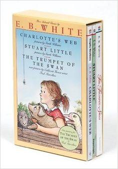 E. B. White Box Set: Charlotte's Web, Stuart Little, The Trumpet of the Swan: E. B. White: 8580001067438: Amazon.com: Books