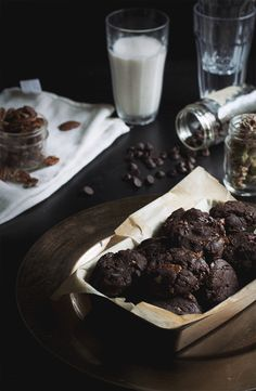 Chocolate Mudslide Cookies // The Pancake Princess