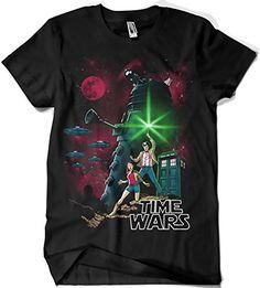 Camiseta Star Wars Doctor Who - Time Wars (Fuacka) #camiseta #friki #moda #regalo