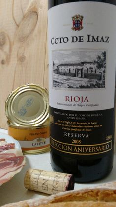 Coto de Imaz Reserva 2008 - DO Ca Rioja - Bodegas El Coto de Rioja - Vino tinto reserva envejecido durante 16 meses en barricas de roble americano y posterior afinado en botella durante 3 años y medio más - Tempranillo 100% - 13.5%