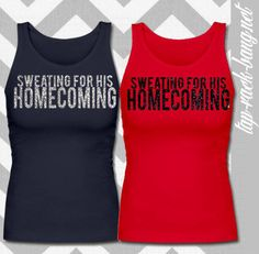 Sweating For His Homecoming - Women's Workout Gym Tank want for deployments. LOVE THIS! NEED THIS!!