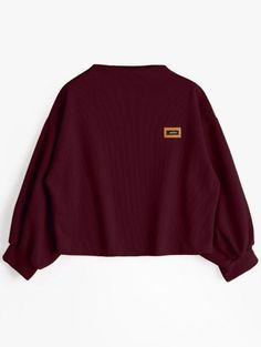 GET $50 NOW | Join Zaful: Get YOUR $50 NOW!https://m.zaful.com/badge-patched-lantern-sleeve-sweatshirt-p_387292.html?seid=6391114zf387292