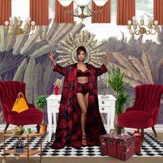 'Beyonce x Neybers #beyonce#codesingn #Red' created in #neybers