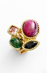 colorful YSL ring at Nordstrom