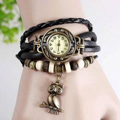 Relógio coruja pulseira preta: http://corujatanastore.blogspot.com/2017/04/relogio-coruja-pulseira-preta.html