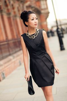 Little black dress. Imagine the possibilities. Scarf, statement necklace, pearls, jacket...the list goes on and on. JewelMint has more possibilities too. Go take a peek.