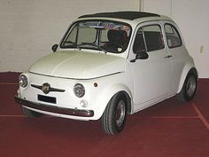 1960 Abarth 595, derived from Fiat 500