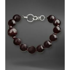EMPORIO ARMANI Necklace With Resin Spheres ($225)