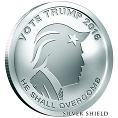 2016 1 oz Oligarchy 999 Silver Shield Vote Trump BU Rounds SBSS Hot !!!